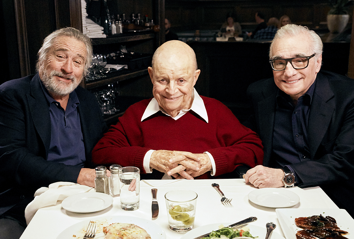 aarp_studios los_angeles_set_photographer los_angeles_bts_photographer dinner_with_don martin_scorsese robert_de_niro don_rickles bts_photographer set_photographer robert_bauer