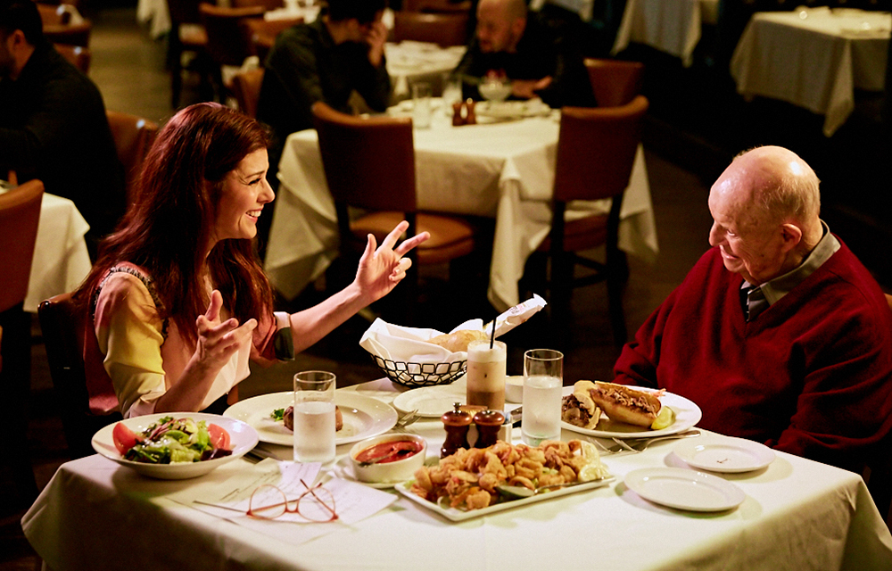 set_photographer bts_photographer unit_photographer AARP_Studios Marisa_Tomei Don_Rickles The_Palm_Restaurant aarp_studios los_angeles_set_photographer los_angeles_bts_photographer dinner_with_don