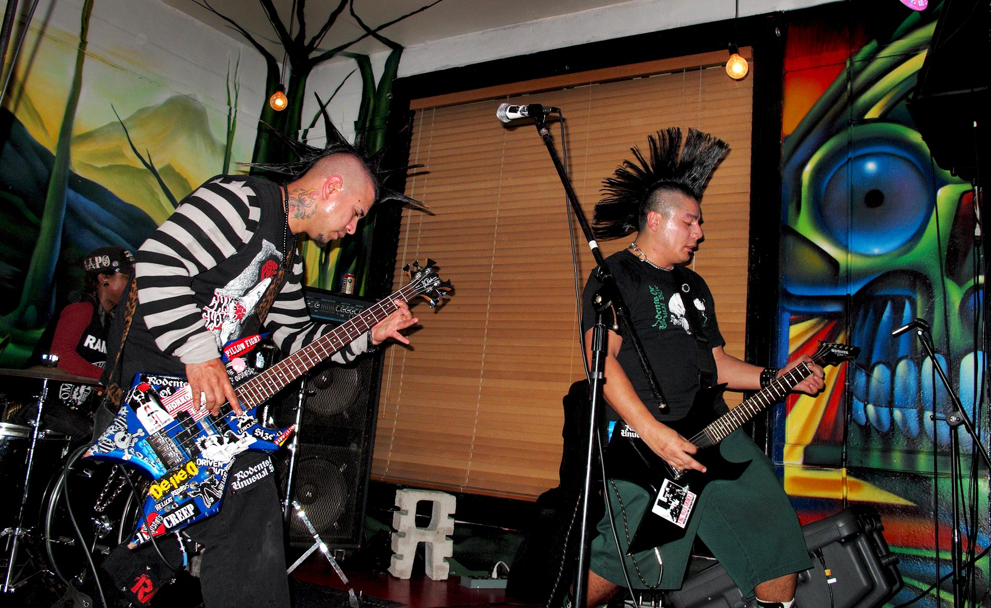 The Outskirts punk rock mohawks