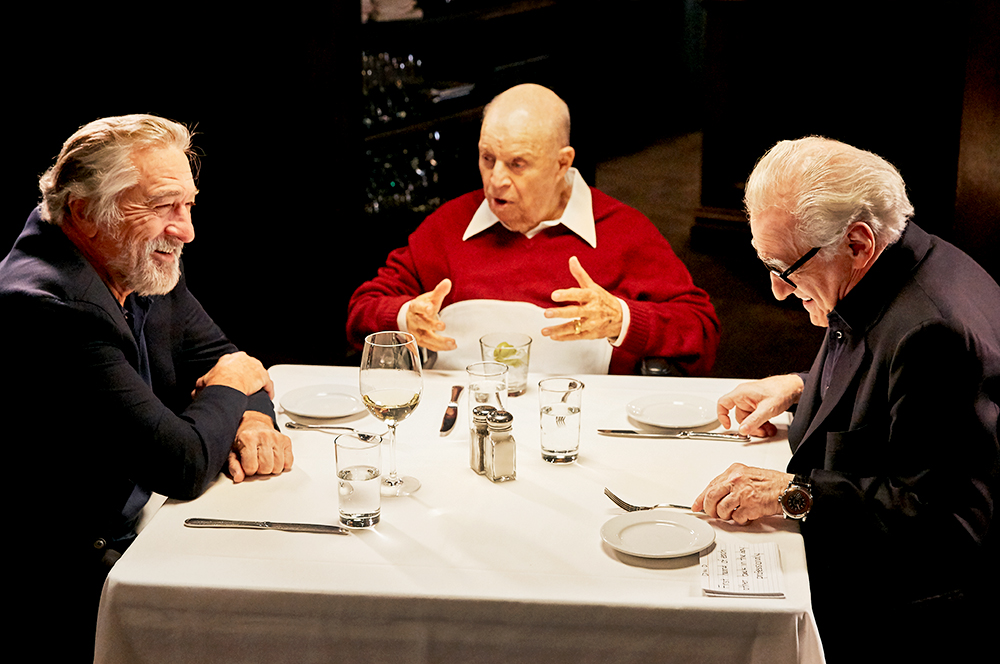 black_label_content aarp_studios Robert_De_Niro Martin_Scorsese Don_Rickles Craigs_Restaurant Dinner_With_Don set_photographer la_set_photographer