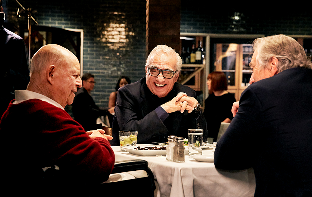 black_label_content aarp_studios Robert_De_Niro Martin_Scorsese Don_Rickles Craigs_Restaurant aarp_studios los_angeles_set_photographer los_angeles_bts_photographer dinner_with_don stamper_lumber_company