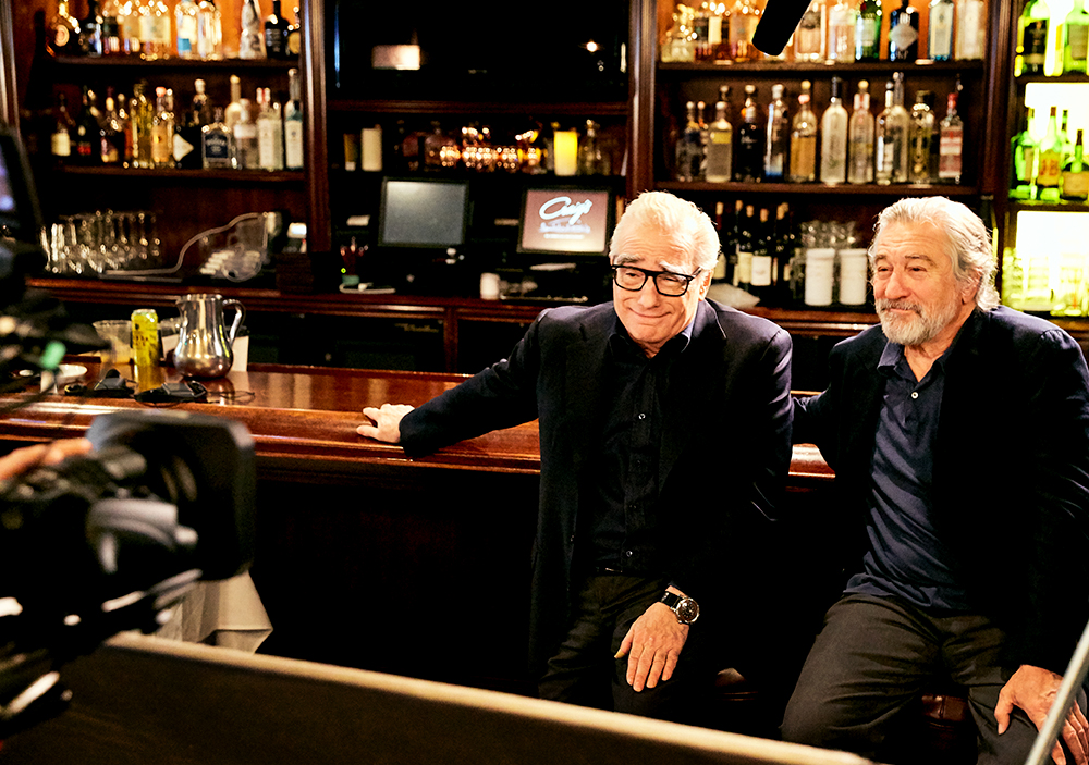 black_label_content aarp_studios Robert_De_Niro Martin_Scorsese Don_Rickles Craigs_Restaurant Dinner_With_Don aarp_studios los_angeles_set_photographer los_angeles_bts_photographer dinner_with_don stamper_lumber_company