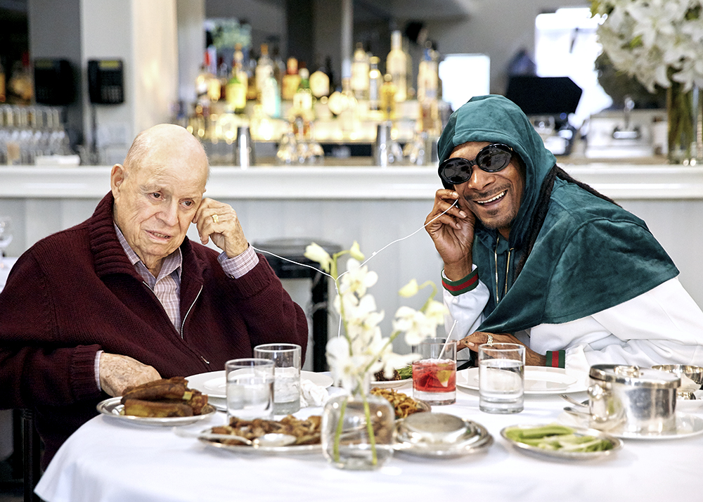 aarp_studios los_angeles_set_photographer los_angeles_bts_photographer dinner_with_don snoop_dogg don_rickles bts_photographer set_photographer robert_bauer