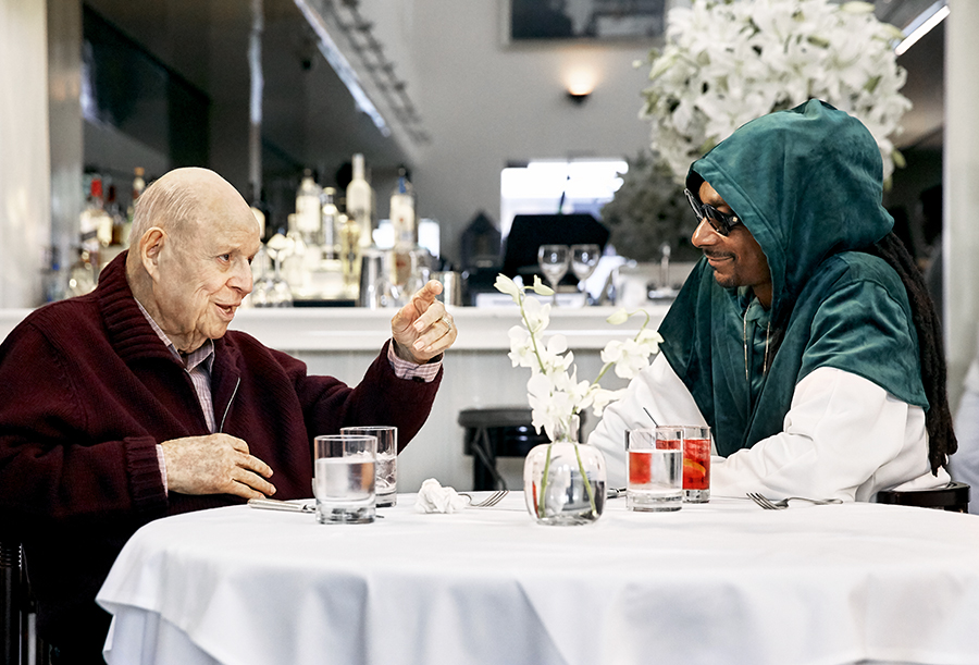 aarp_studios Don_Rickles Snoop_Dogg Dinner_with_Don Mr_Chows los_angeles_set_photographer los_angeles_bts_photographer