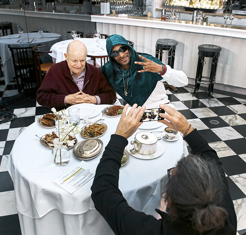 aarp_studios Don_Rickles Snoop_Dogg Dinner_with_Don Mr_Chows los_angeles_set_photographer los_angeles_bts_photographer bts_photographer set_photographer